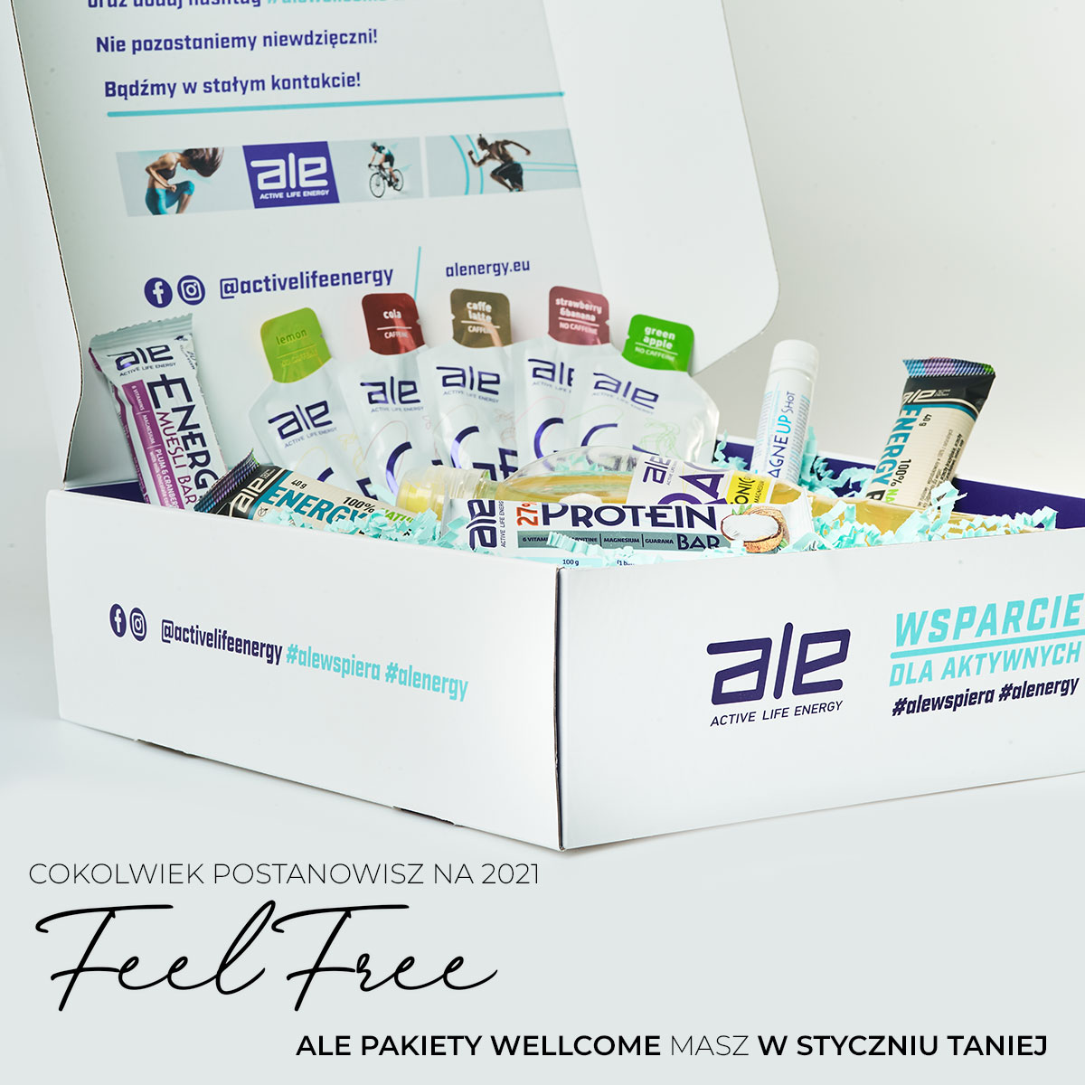 ALE WellCome BOX