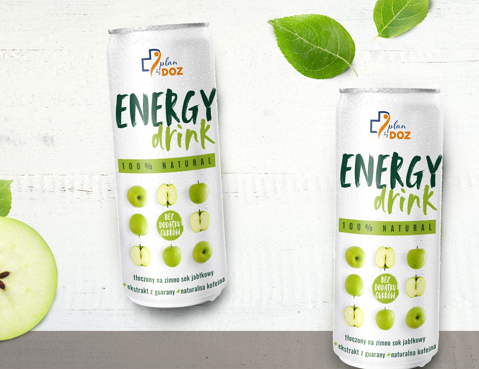 PLAN by DOZ ENERGY DRINK 100% ANTURAL