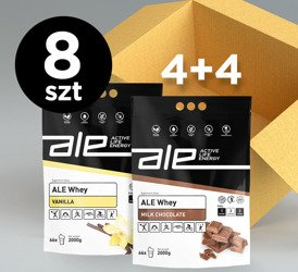 ALE Whey Vanilla 2kg (set of 4+4)