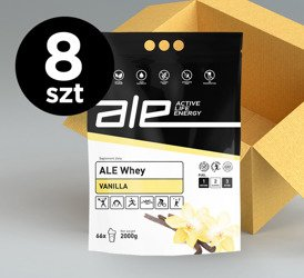 ALE Whey Vanilla 2kg (set of 8)