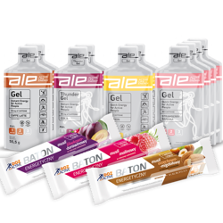 Buy 10 ALE Energy Gels and get 3 DOZ ACTIVE Energy Bars FREE