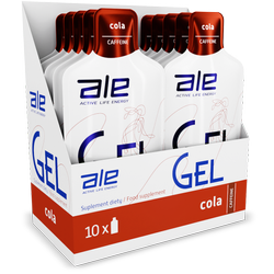 Display ALE Energy Gel Caffeine Cola