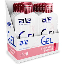 Display ALE Energy Gel Strawberry Banana
