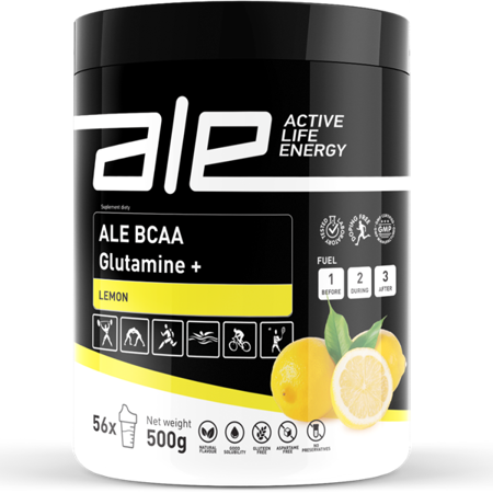 ALE BCAA Glutamine + Lemon