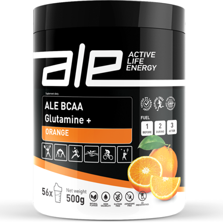 ALE BCAA Glutamine + Orange
