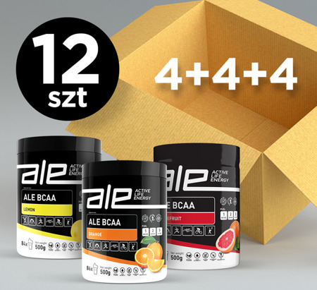 ALE BCAA Mix (set of 4+4+4)