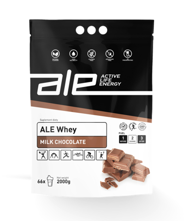 ALE Whey Milk Chocolate 2kg