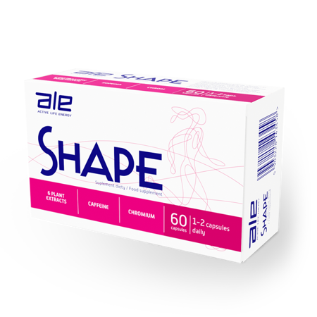 DOZ SHAPE, fat burner, 60 capsules