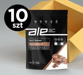 ALE Gainer Milk Chocolate 1kg KARTON 10 szt.